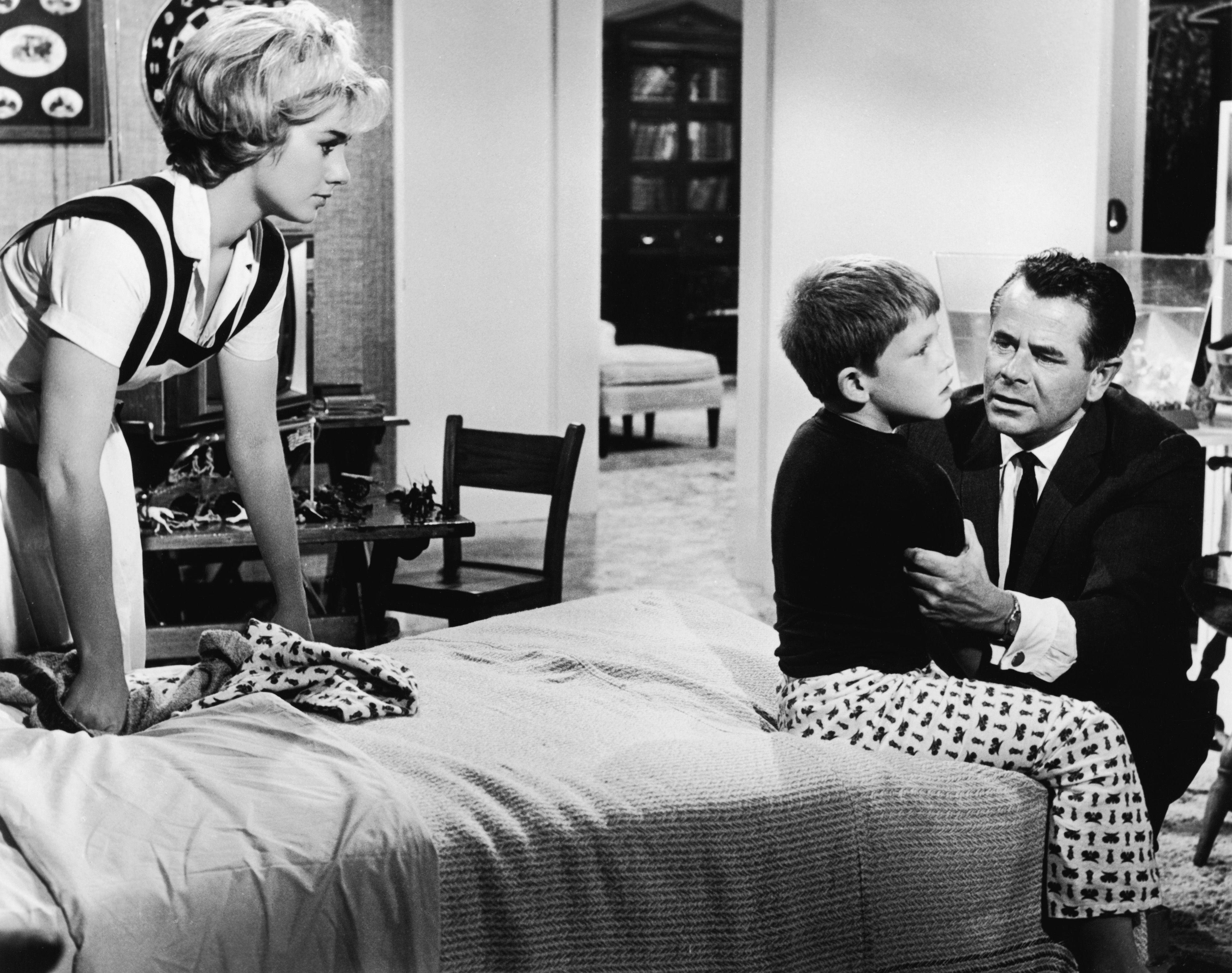 """The Courtship Of Eddie's Father"" movie still, 1963. L to ..."