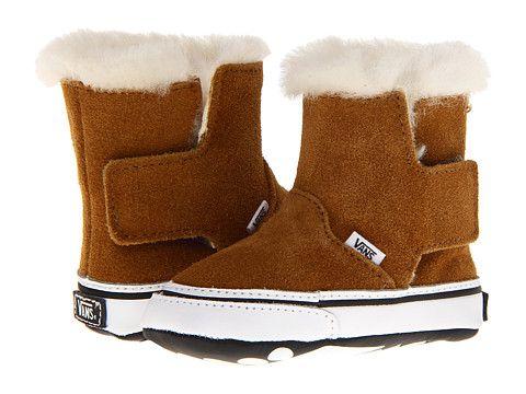 Vans Kids Slip-On Boot (Infant) (Suede