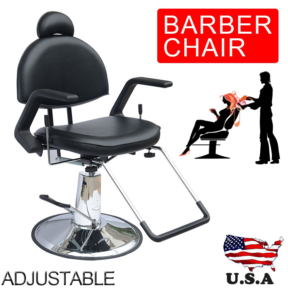 Tremendous Shellhard Adjustable Reclining Hydraulic Barber Chair Interior Design Ideas Inesswwsoteloinfo