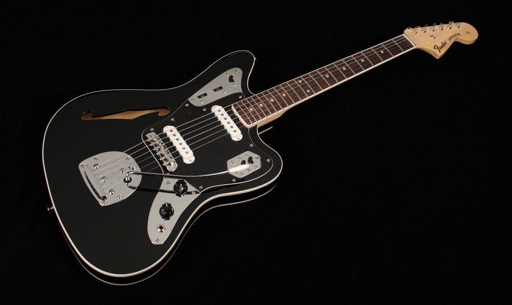 Someday The Fender Special Edition Jaguar Thinline Drool Cool Electric Guitars Fender Jaguar Acoustic Bass Guitar