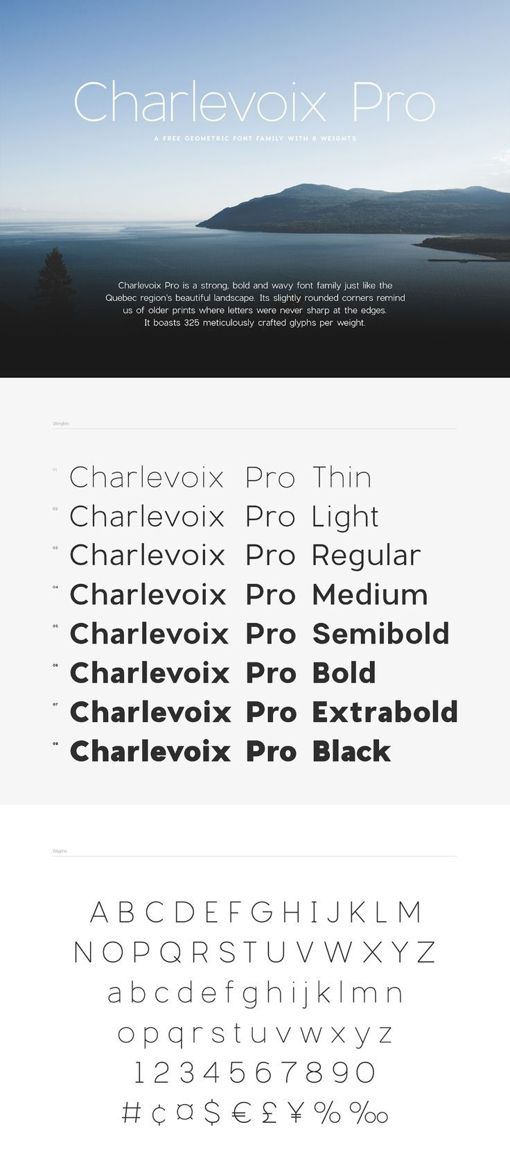 Charlevoix Pro Free Demo Free Design Resources Free Typeface Fonts Typography Inspiration
