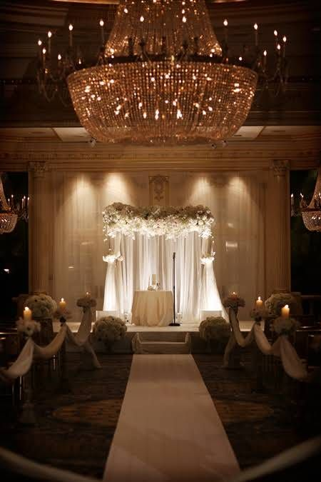 A black tie wedding in new york city wedding ideas for Hotel wedding decor