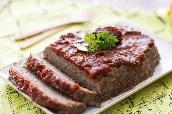EASY MEATLOAF WITH MOROCCAN DATE SAUCE