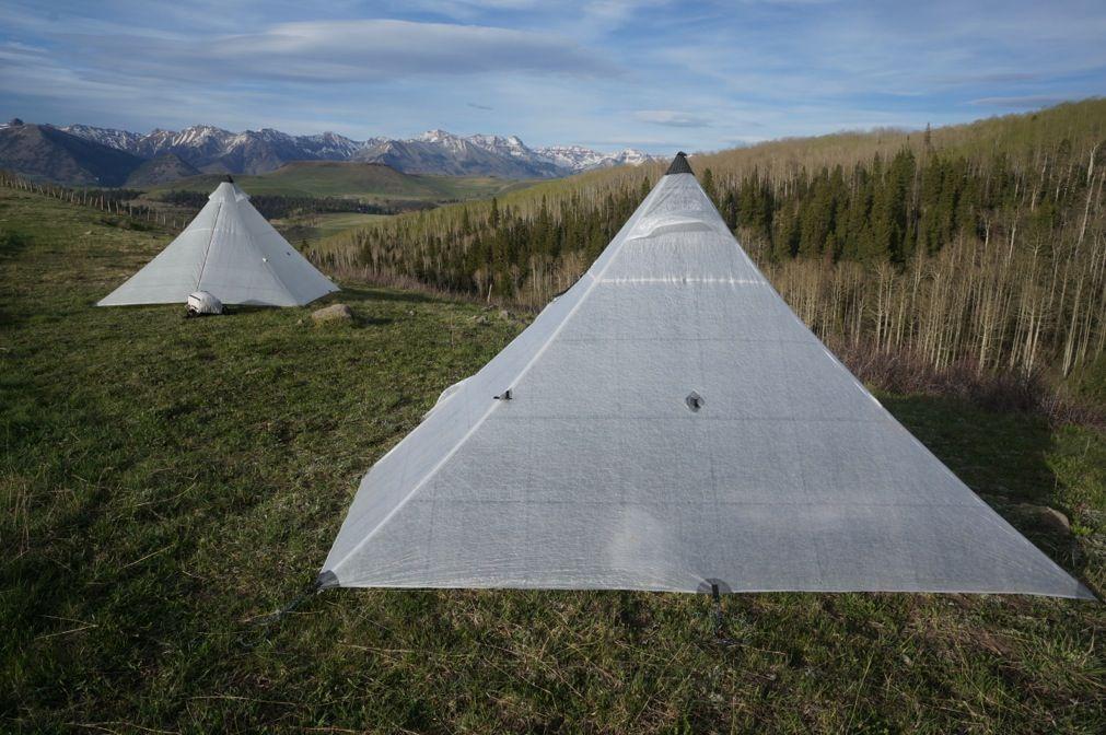HMG #ultralight #cubenfiber UltaMid Pyramid Tents two-man and four-man & HMG #ultralight #cubenfiber UltaMid Pyramid Tents two-man and ...