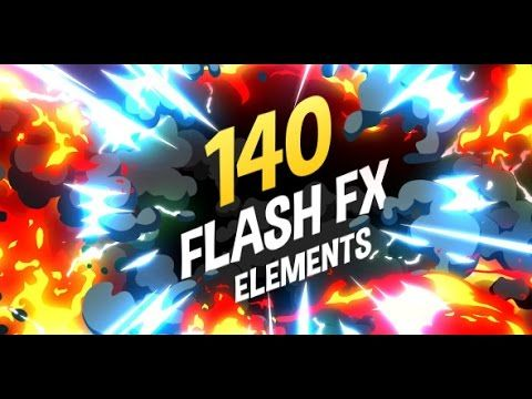 140 Flash FX Elements (After Effects Template) - YouTube