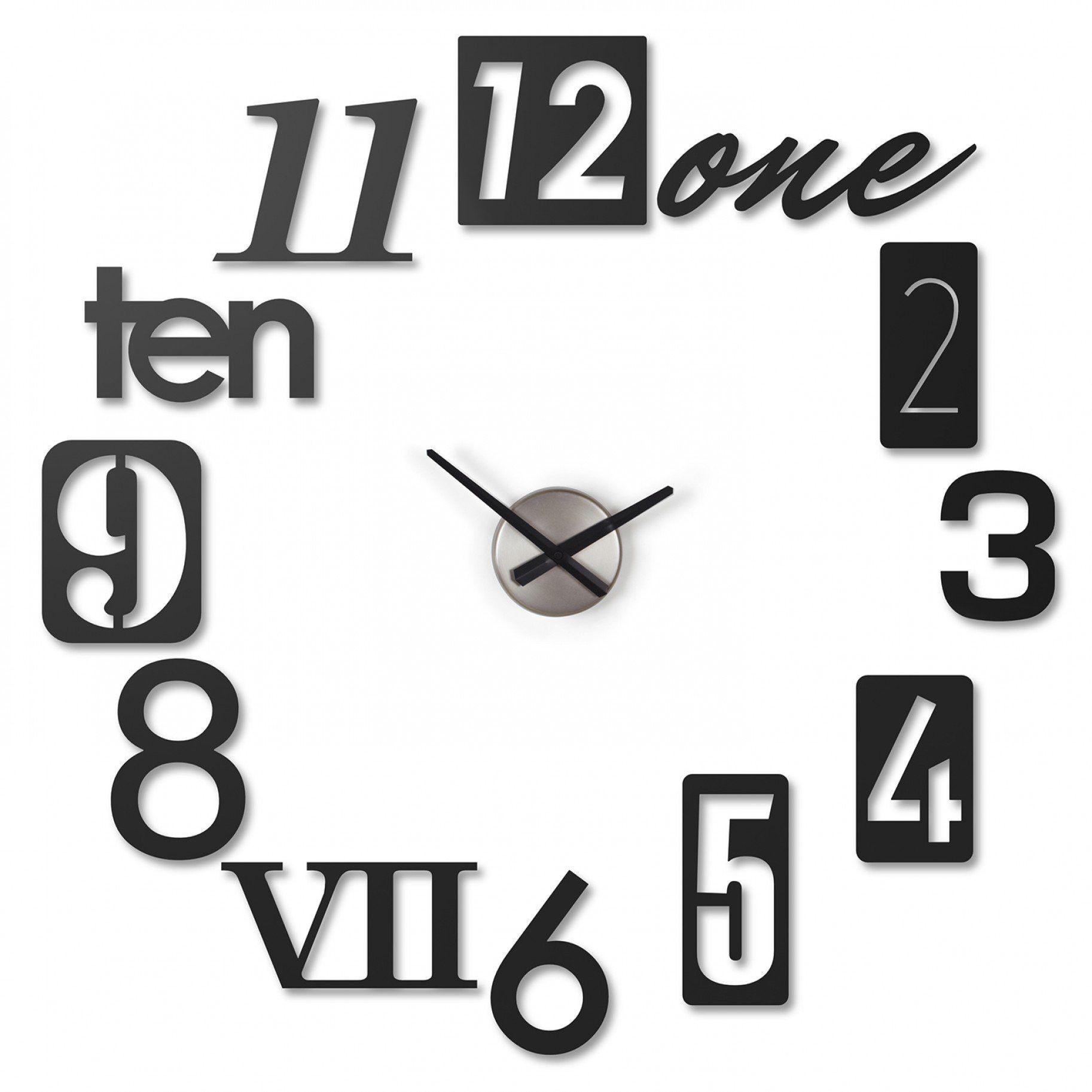 Wall Clock in Black design by Umbra
