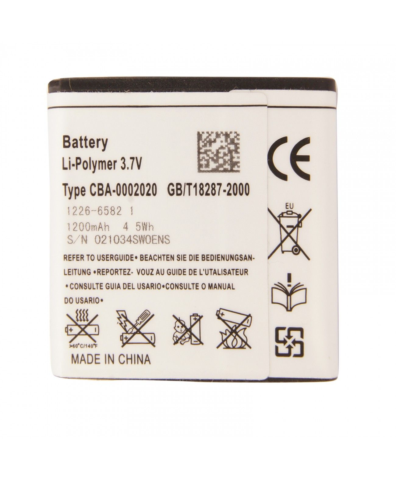 Brand New  Battery Replacement Battery For Sony Ericsson Xperia E Dual,Pro,Ray,Neo,Miro,Tipo ....66245339872583