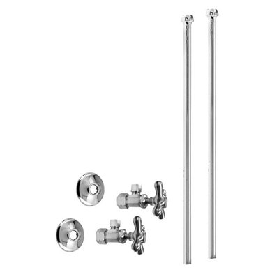 Westbrass D105KBN Water Stops & Supplies Bullnose Faucet Supply ...