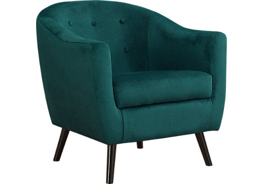 Dameron Green Accent Chair Accent Chairs Green Accent Chair Chair