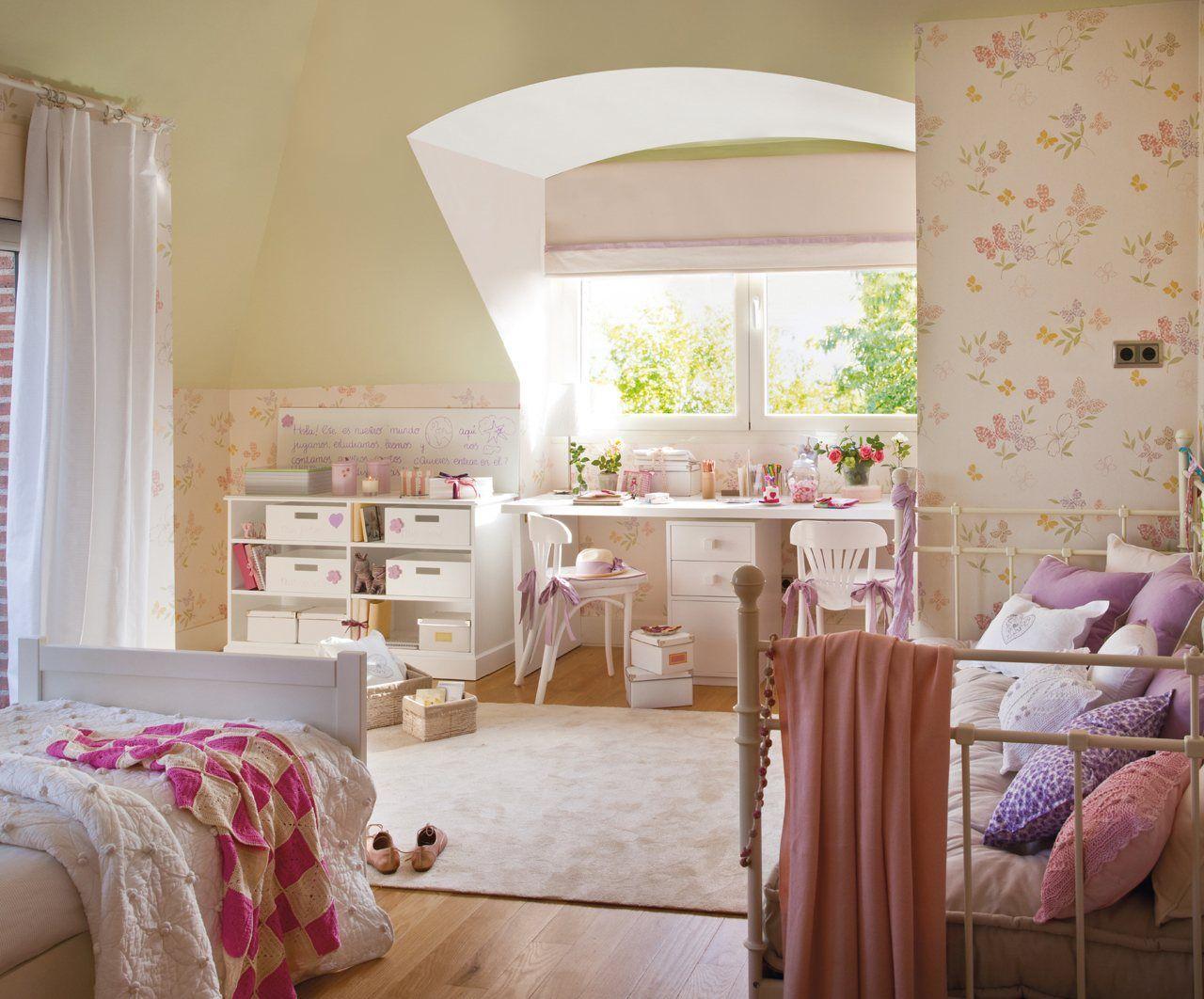 10 cuartos de ni os renovados por el mueble elmueble for Habitaciones ninos el mueble
