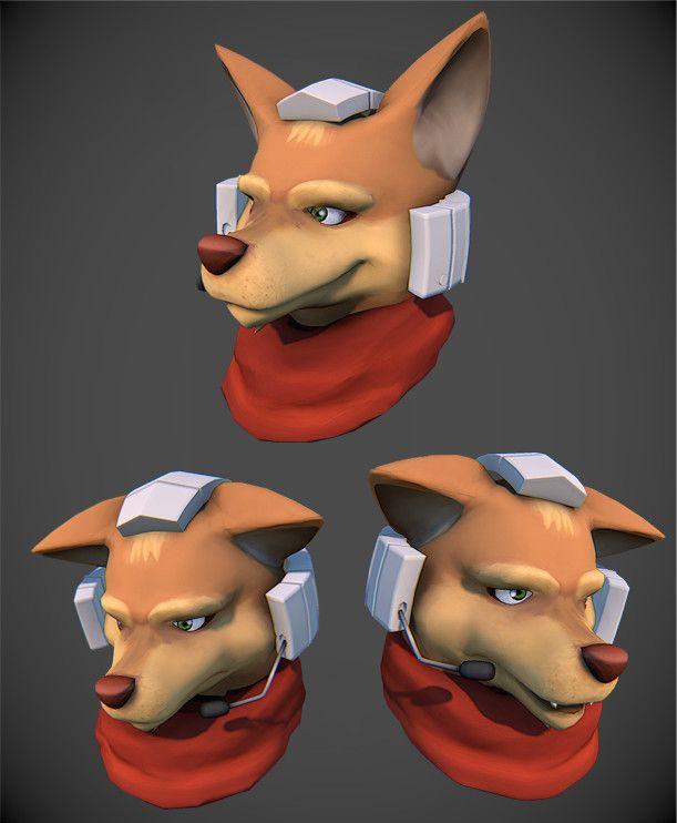 ArtStation - Fox McCloud, Paul Lembcke