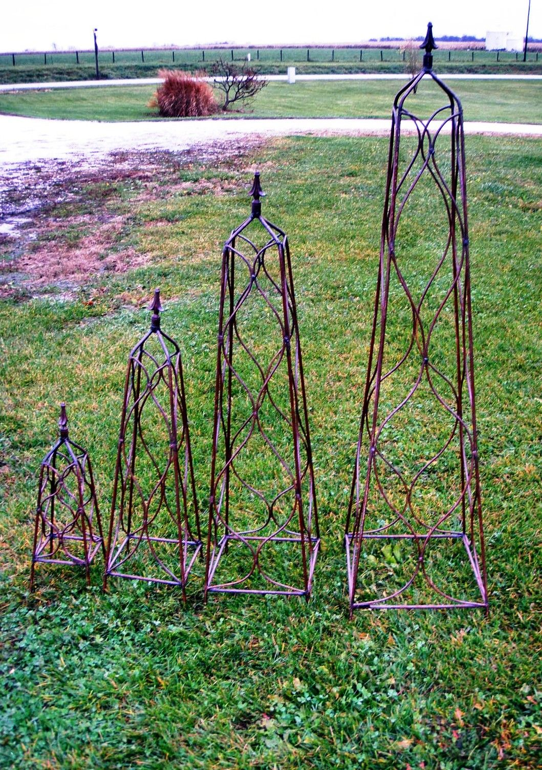 You Could Use A Trellis Like This Right In The Pot For The