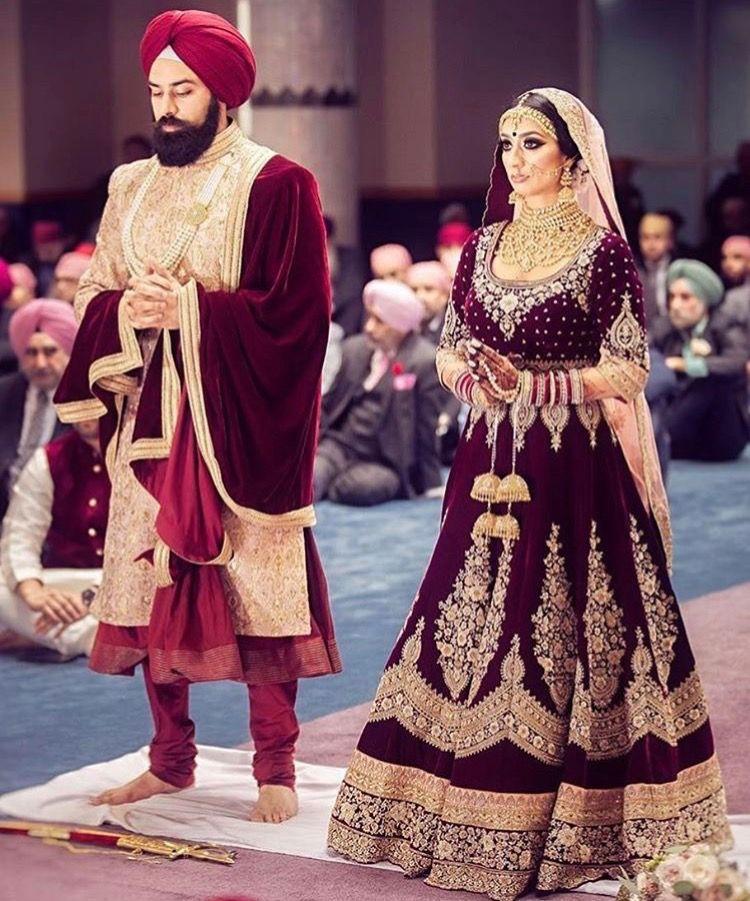 Indian Wedding Outfits Weddings Attire Clothes Punjabi Couples Inspiration