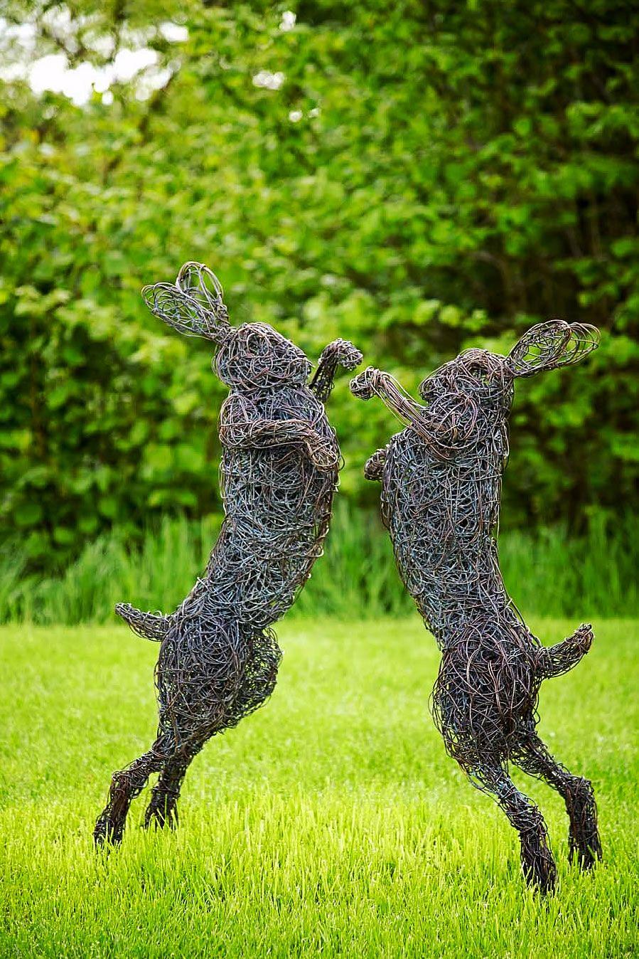Wire Sculptures by Rupert Till   Crafts   Pinterest   Draht, Metall ...