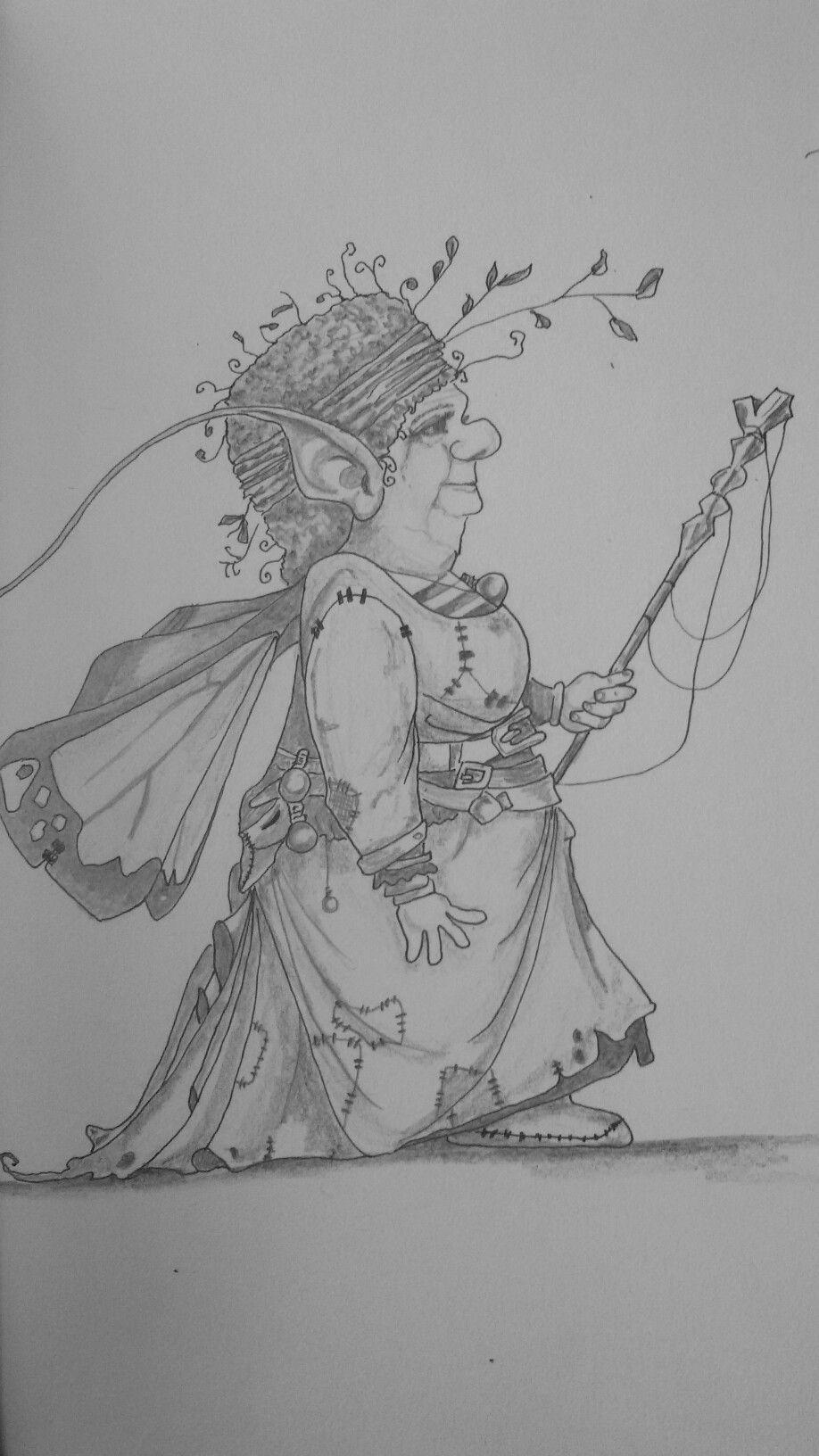Getekend door carla fairytekeningen pinterest doors fairy and