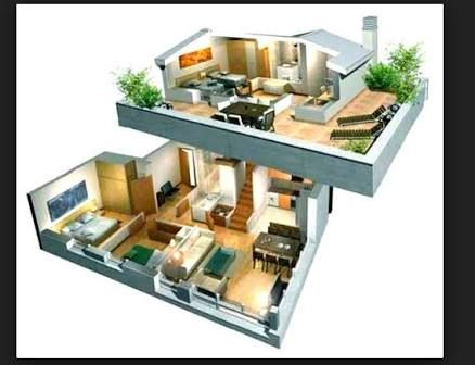 Resultado de imagen para maquetas de casas por dentro for Fotos de casas modernas para imprimir