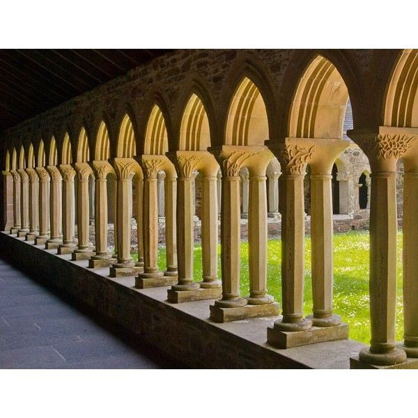 Cloister definition, Illustrated Dictionary of British Churches,... ❤ liked on Polyvore