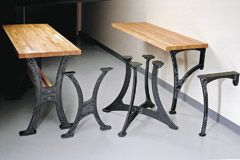 Cast Iron Table Legs From Http://www.leevalley.com/US