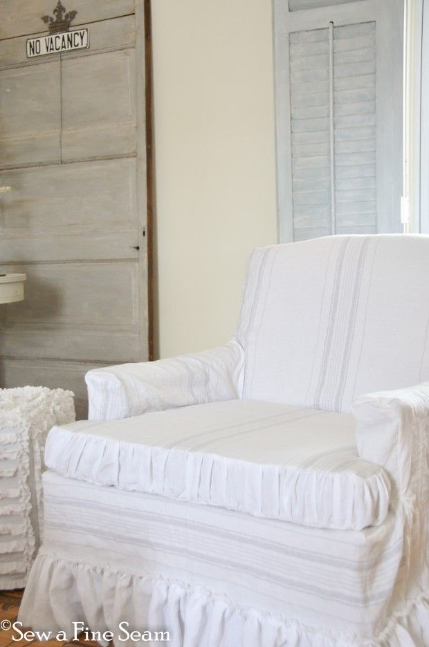 Slip covers - and Feather Pillows!