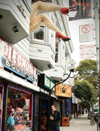 San Francisco Haight Ashbury ˈhat ˈa Sh ˌbere A Residential