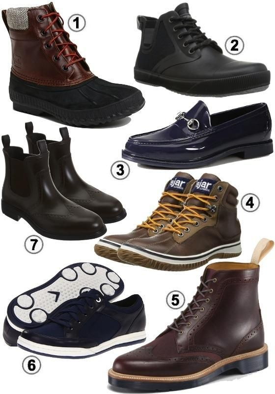 Men\u0027s Rain Boots