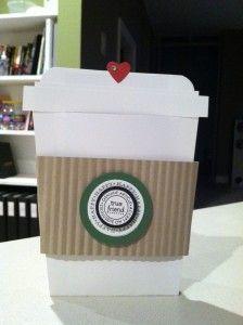 Stampin' Up! Starbucks Gift Card Holder