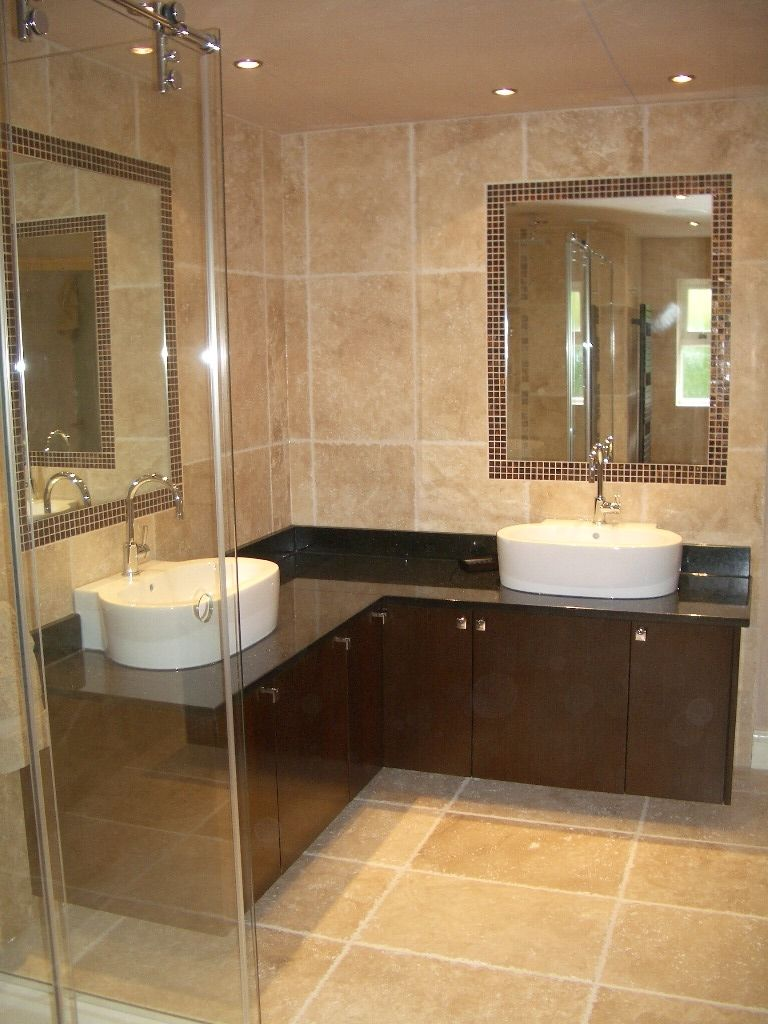 Double corner bathroom sink google search for the home for Small bathroom sink ideas