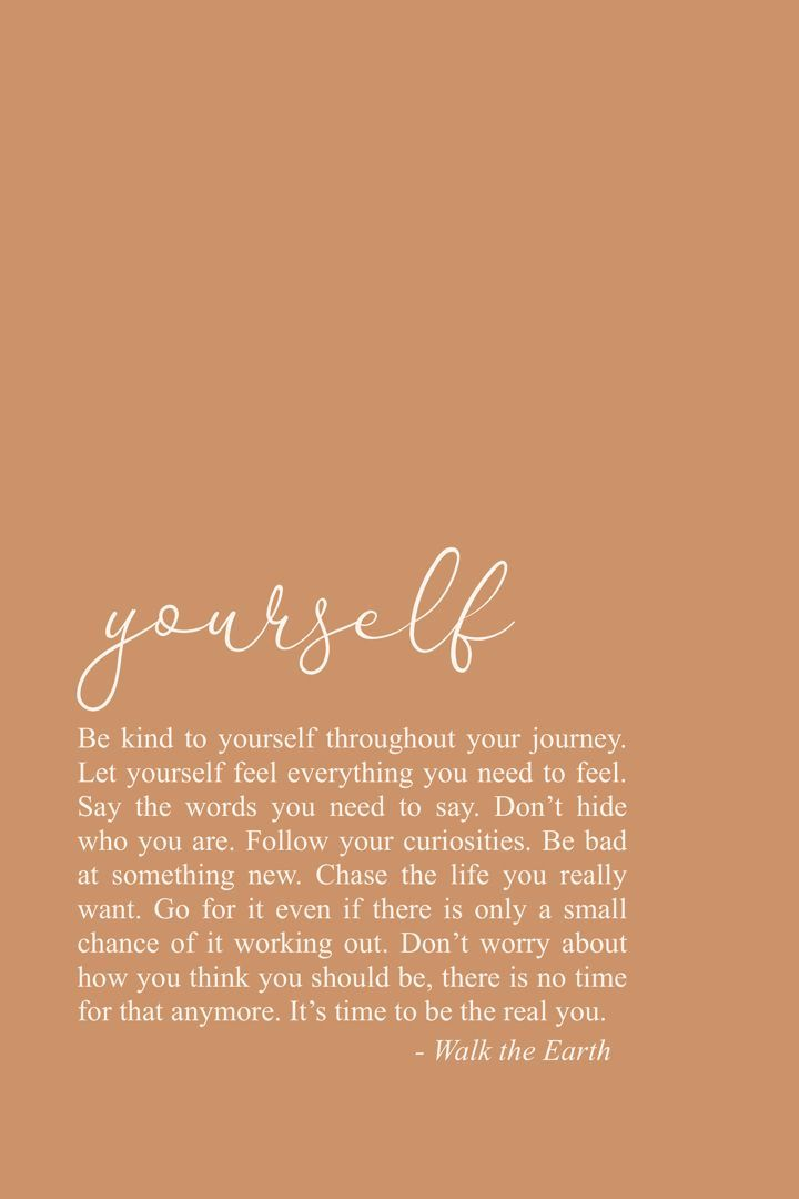 Photo of A list of advice for you ❤️ Don't be afraid to be yourself anymore, start …