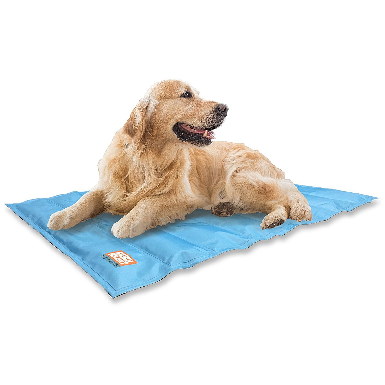 Amazon Com Animal Planet Cooling Gel Pet Mat 30 X 24 Blue Pet Supplies Pets Dog Diapers Cool Dog Beds