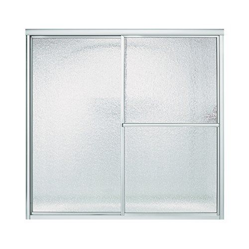Sterling 5906 59s Deluxe By Pass Bath Door Silver With Rain