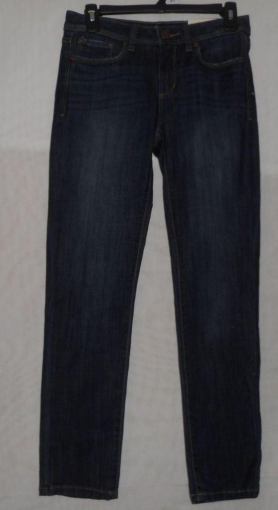 New Womens Size 2 Lauren Conrad Denim Jegging Mid Rise Skinny Leg #LaurenConrad #Jegging