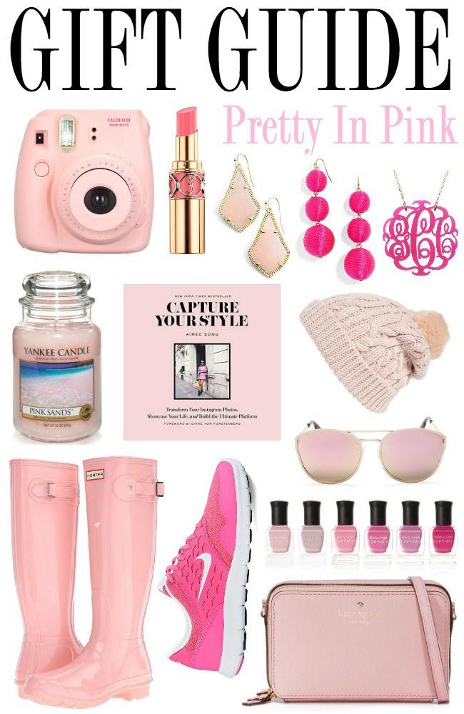 Gut gemocht Gift Guide: Pretty In Pink | Idée swap, Affaires et Idées cadeaux QY38
