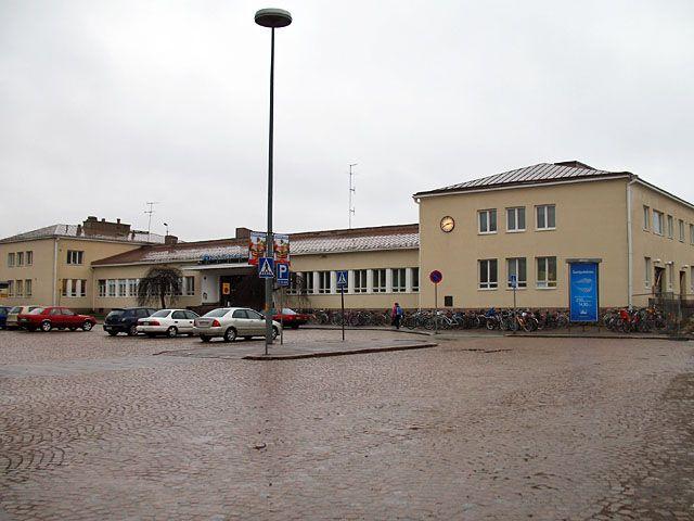 Riihimäen uusi rautatieasema