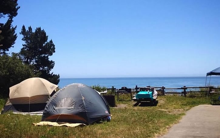 California Central Coast Beach Camping California Family