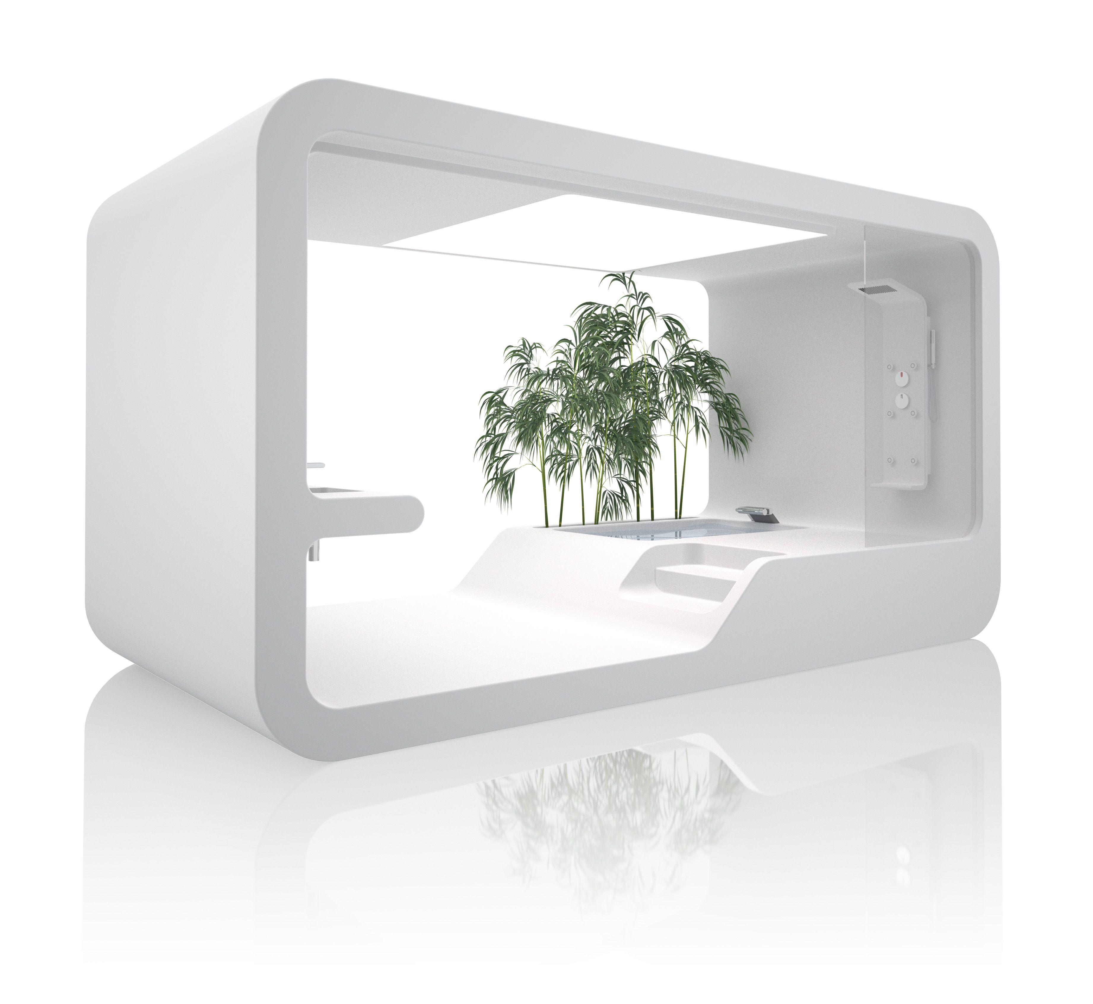 Ora Ito Futuristic Bathroom