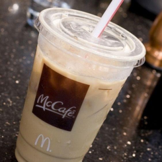 McDonald's Iced Latte. McDonald's Iced Latte #drinks