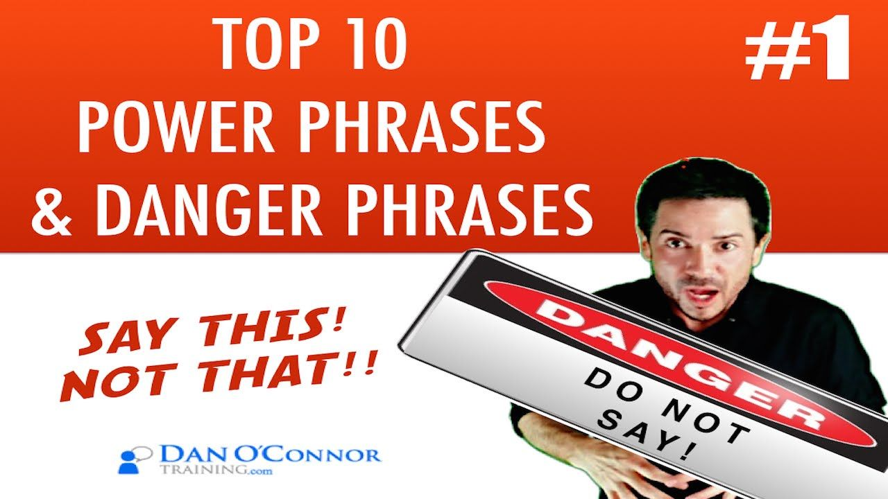 Top  Power Phrases And Danger Phrases  ThatS Ok  Free