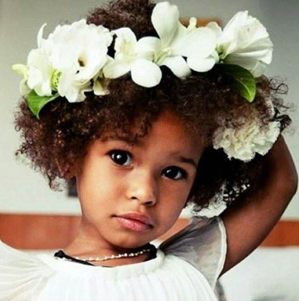 Flower girl flower crown from miss to mrs pinterest flower flower girl flower crown izmirmasajfo Gallery