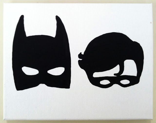 Batman robin masks stir fry willie art superheroes for Joker mask template