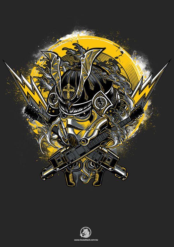 Samurai Stormtrooper Of Rocker Star Https Www Facebook Com Lad2012 Www Loveattack Com Tw Seanweidesign Gmail C Samurai Wallpaper Samurai Art Samurai Artwork