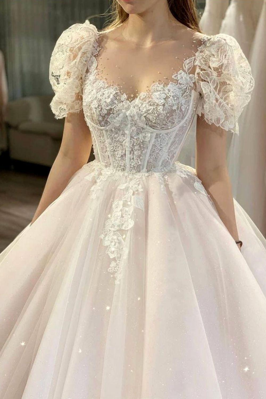 21 Princess Wedding Dress Ideas & Trends 2021-2022