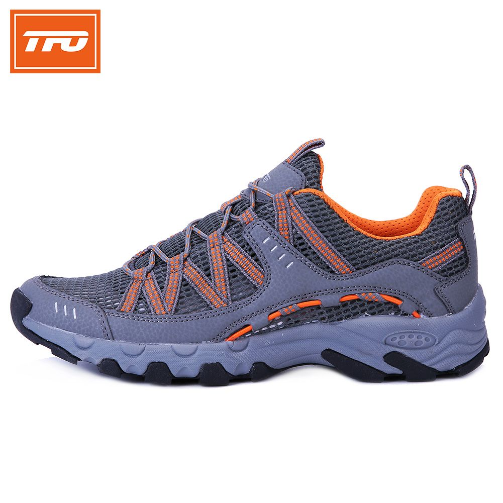 9bbaafd55ff9 camping supplies TFO Professional Men Aqua Shoes Outdoor Sports Anti- Slippery Lightweight Quick-Drying
