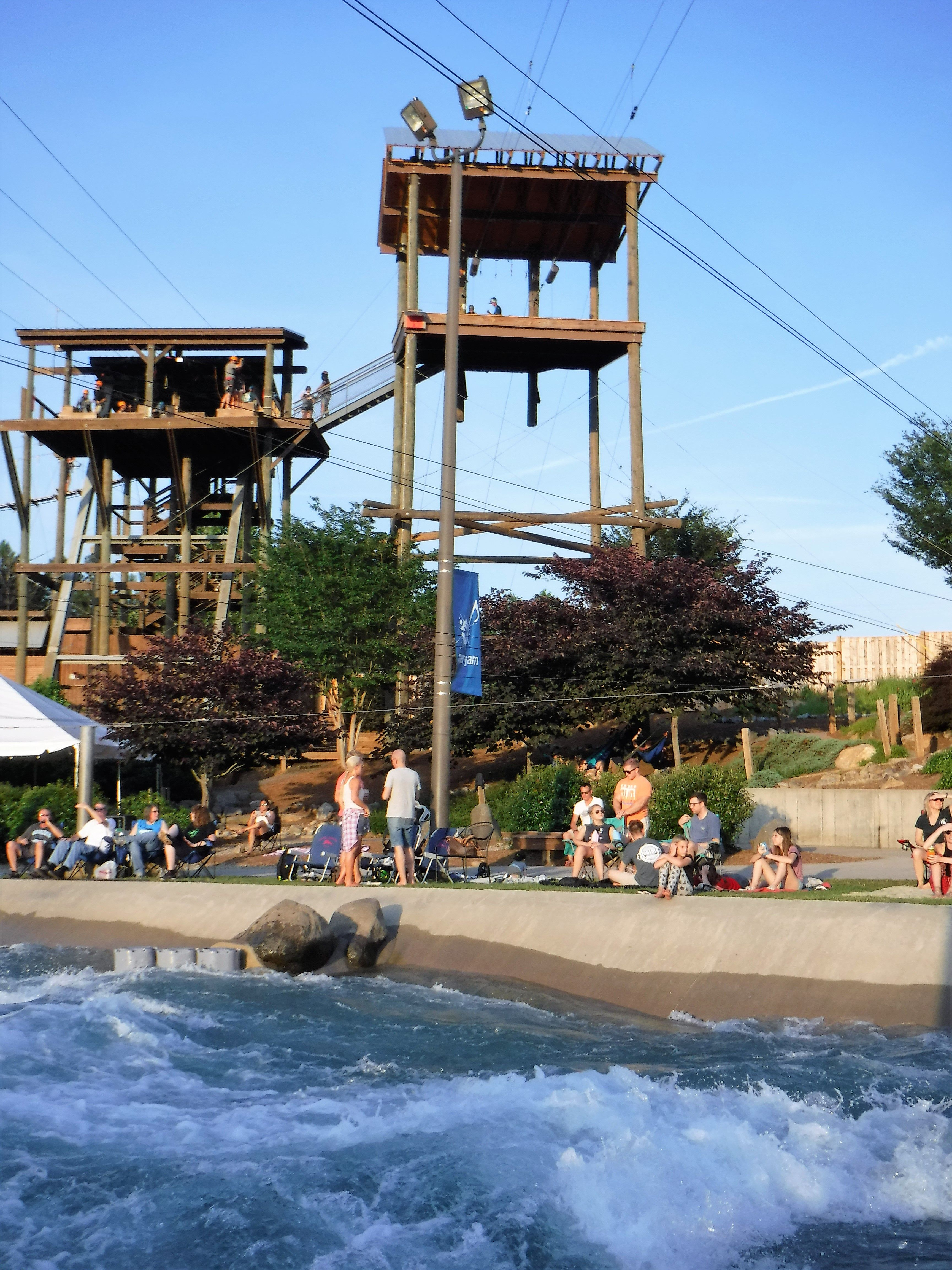 Amazing Place To Go For White Water Rafting Zip Lining Rock Climbing 100 Foot Free Fall And Ropes Courses Ju White Water Rafting Places To Go Ropes Course
