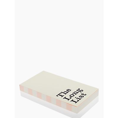 Kate Spade the long list large notepad