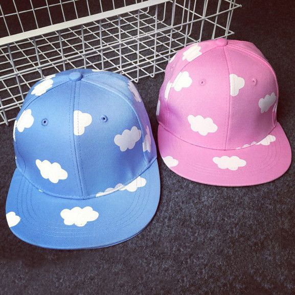 Harajuku japanese clouds baseball cap