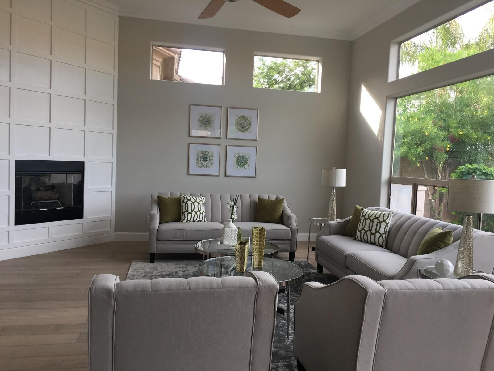 Genial  Casual Elegance Is The Direction Of This Staged Property.