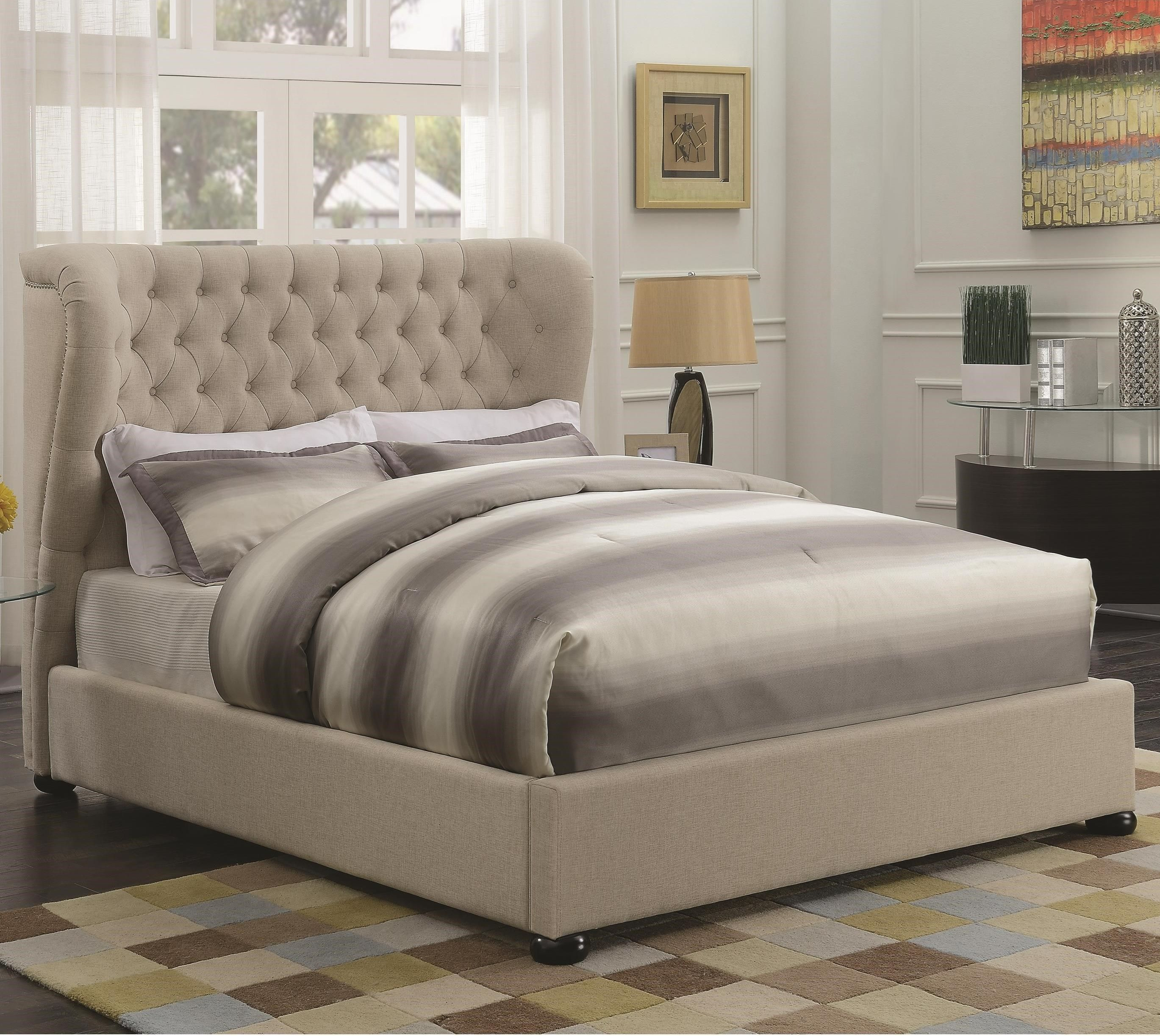 Newburgh Full Upholstered Bed By Coaster Upholstered Panel Bed