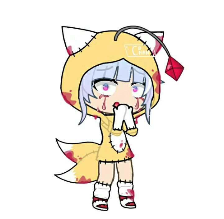 Part for a collab | Gacha Life Edit in 2020 | Tails doll ...