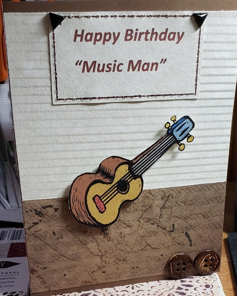 Pin by Pam Montenegro on My Cards   Happy birthday music ...