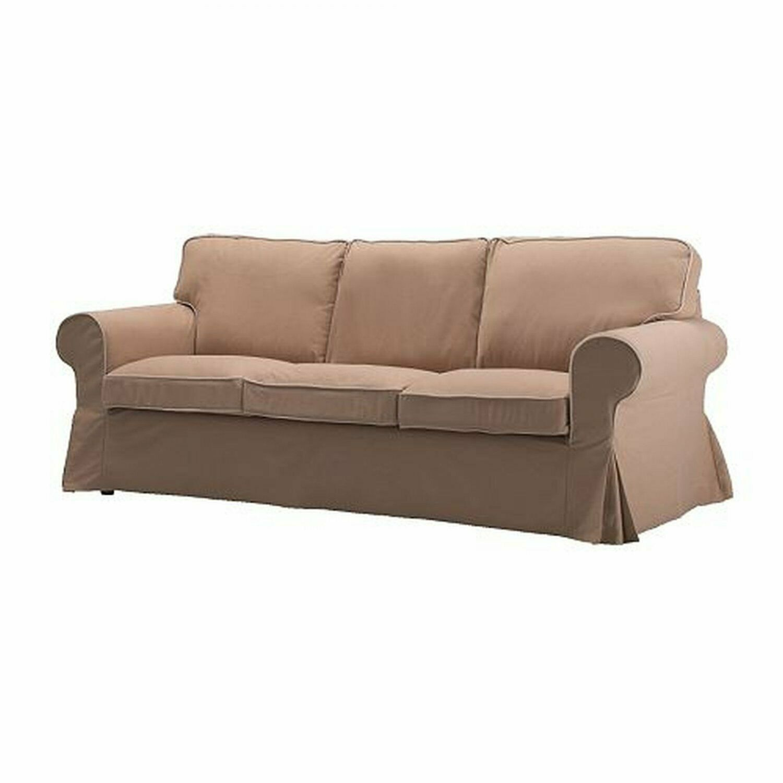 Ikea Ektorp Cover For Ektorp Sofa Idemo Beige 3 Seater Sofa